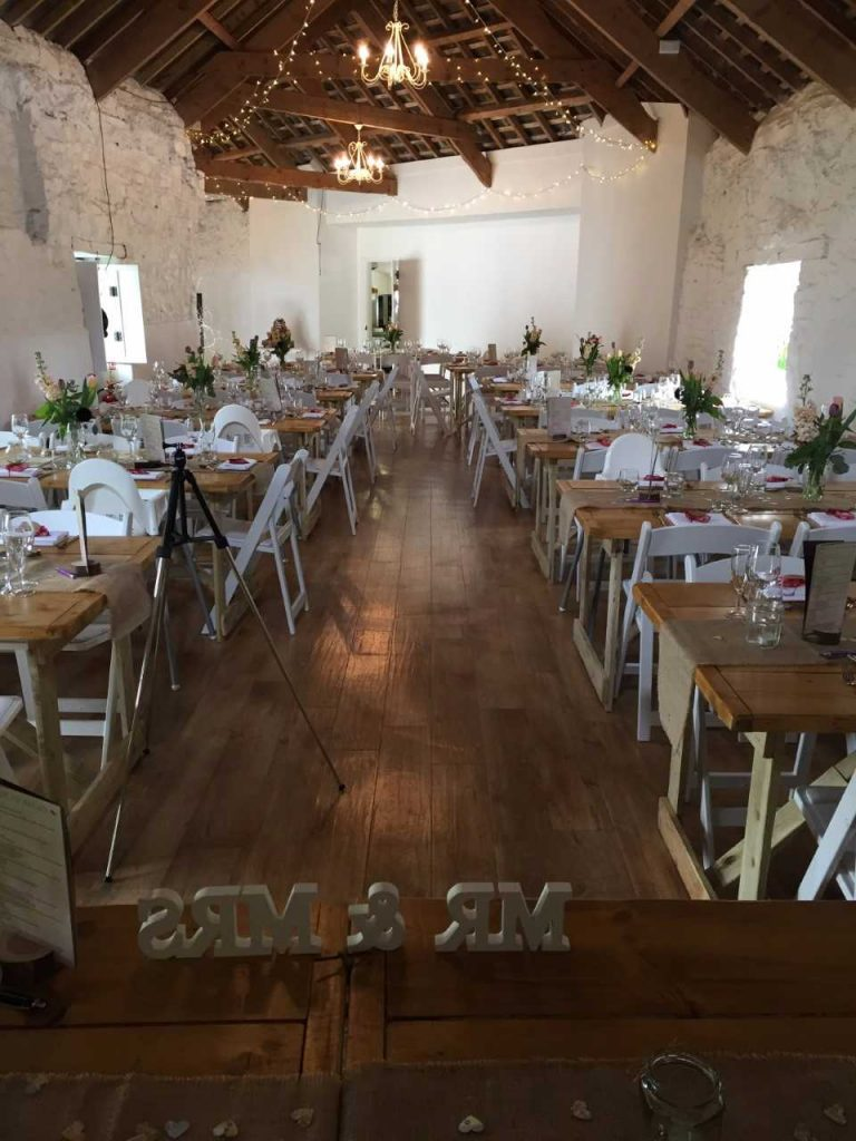 The Corn Barn wedding caterers