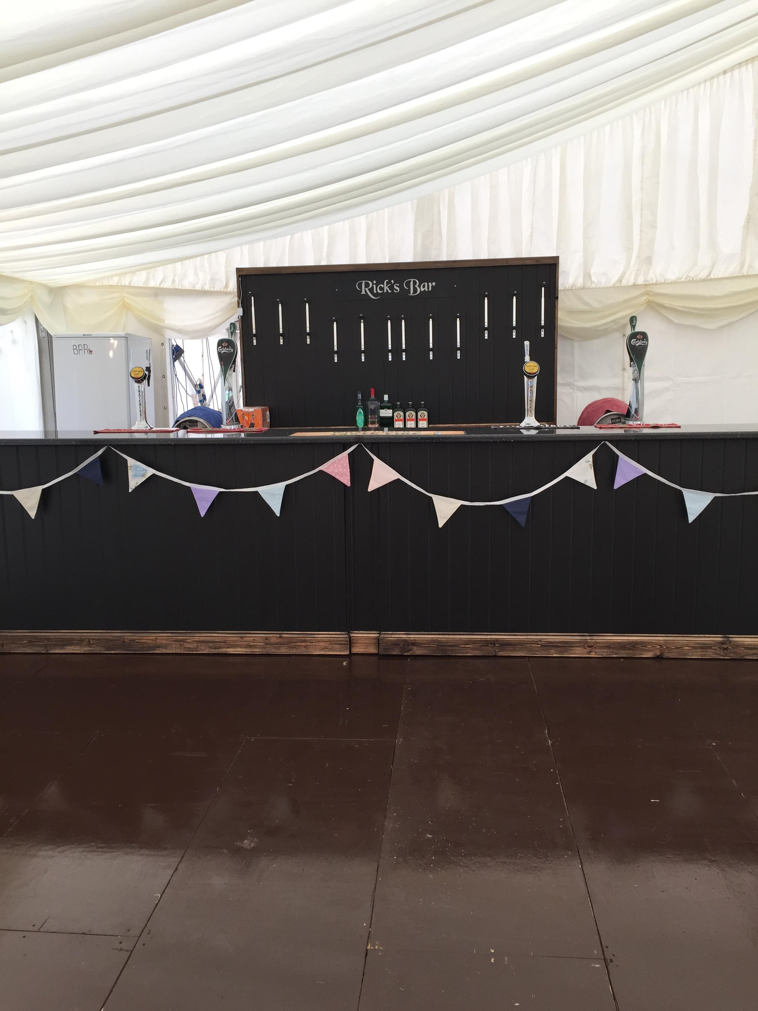 Marquee event catering