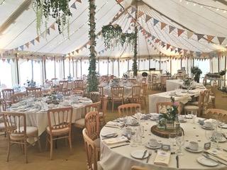 Tavistock marquee catering