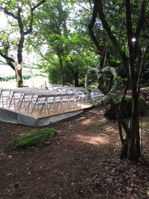 rustice wedding catering cornwall