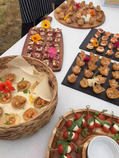 Event catering Devon Bark