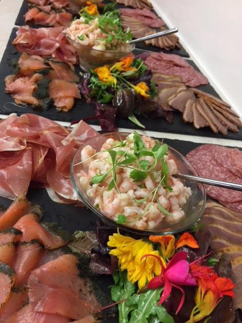 Bespoke caterers menus Devon