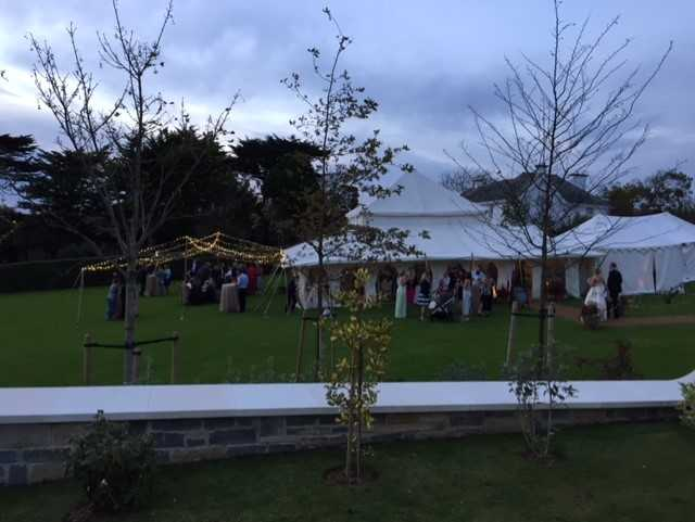 garden party caterers devon