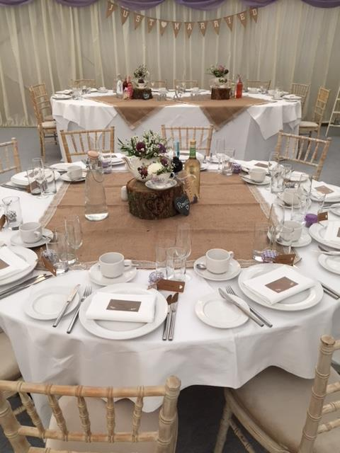 Devon Wedding outside caterers