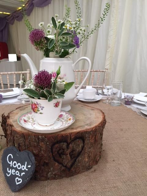 Wedding marquee Catering