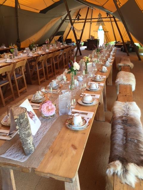 Tipi catering devon