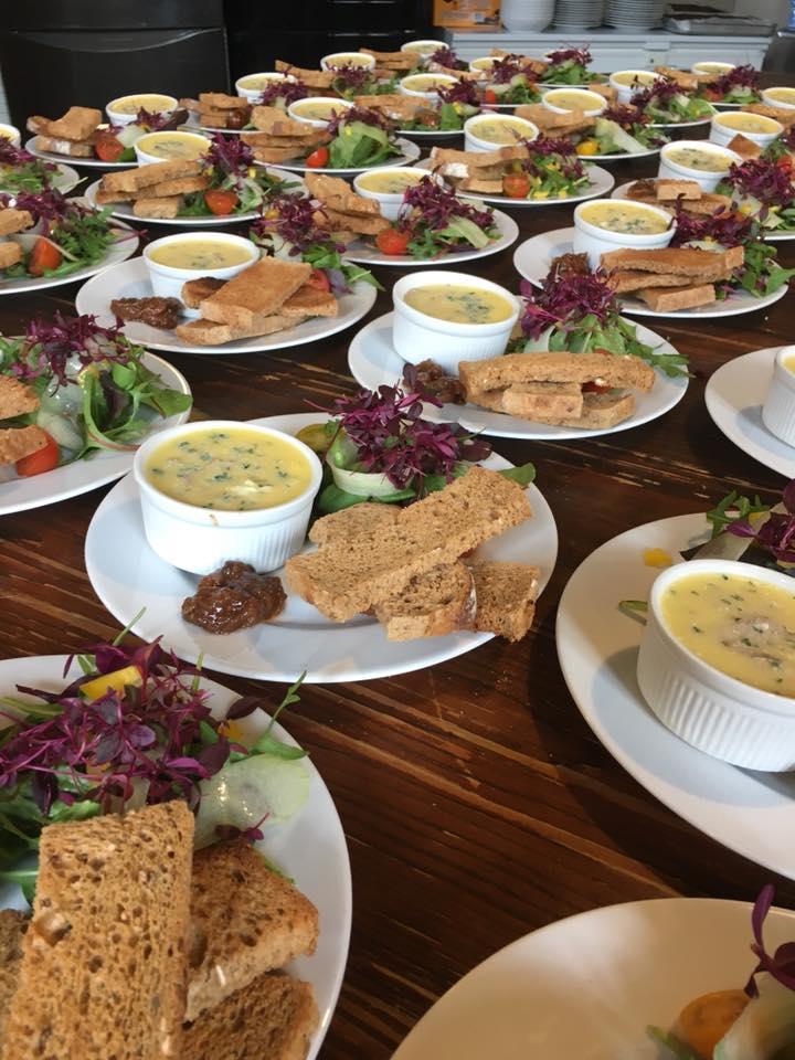 Barn Wedding Catering