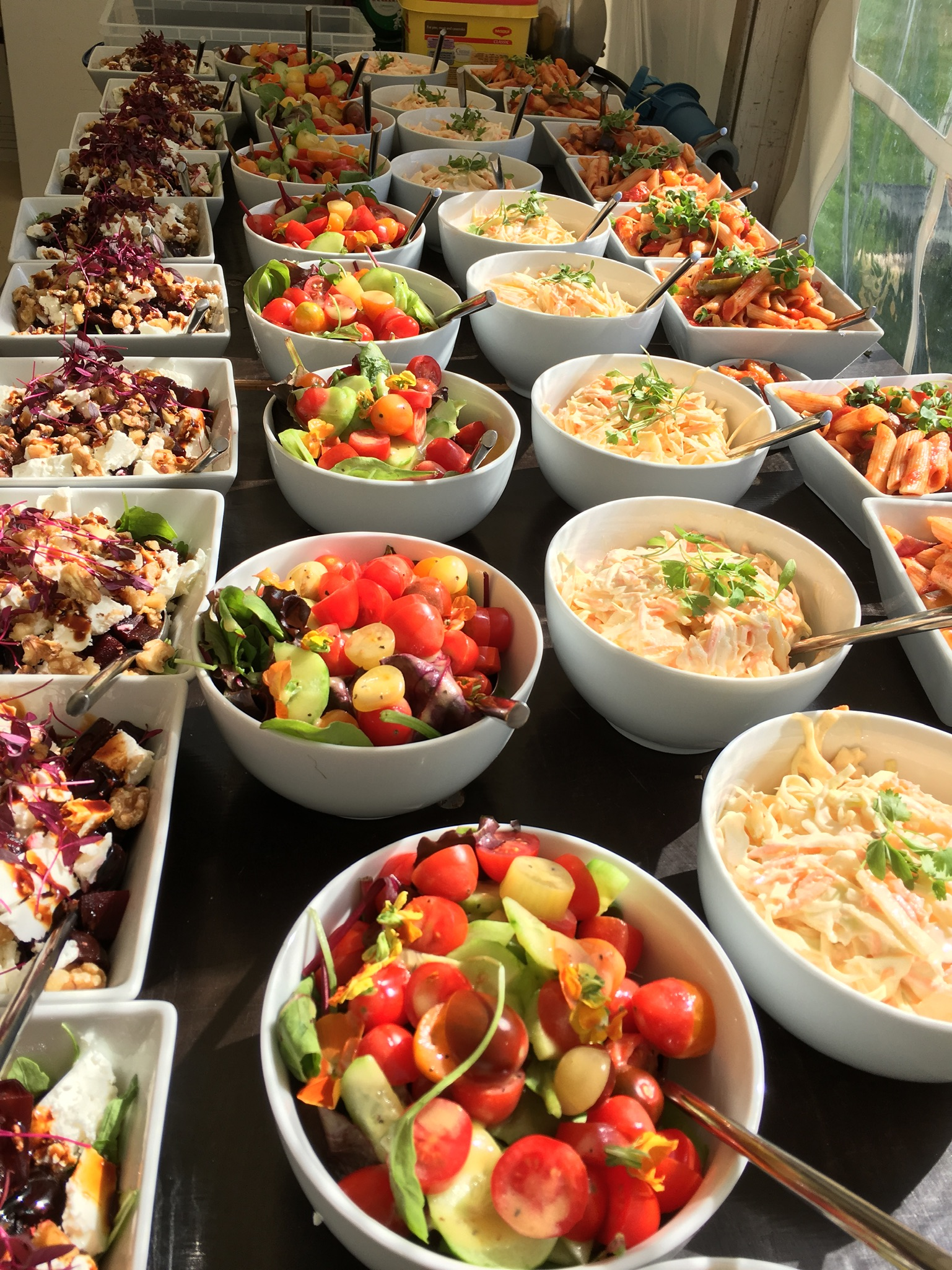 Devon Wedding Food