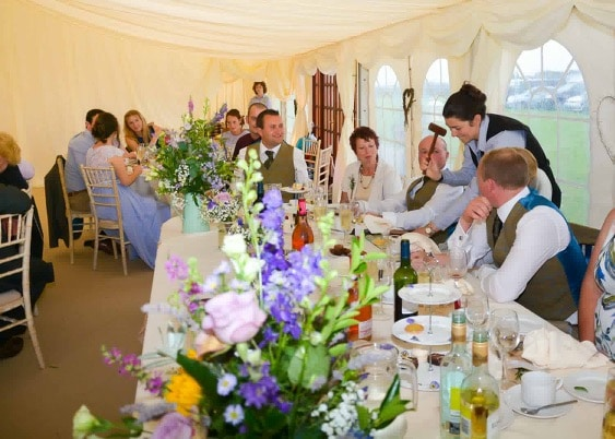 Wedding caterers Devon