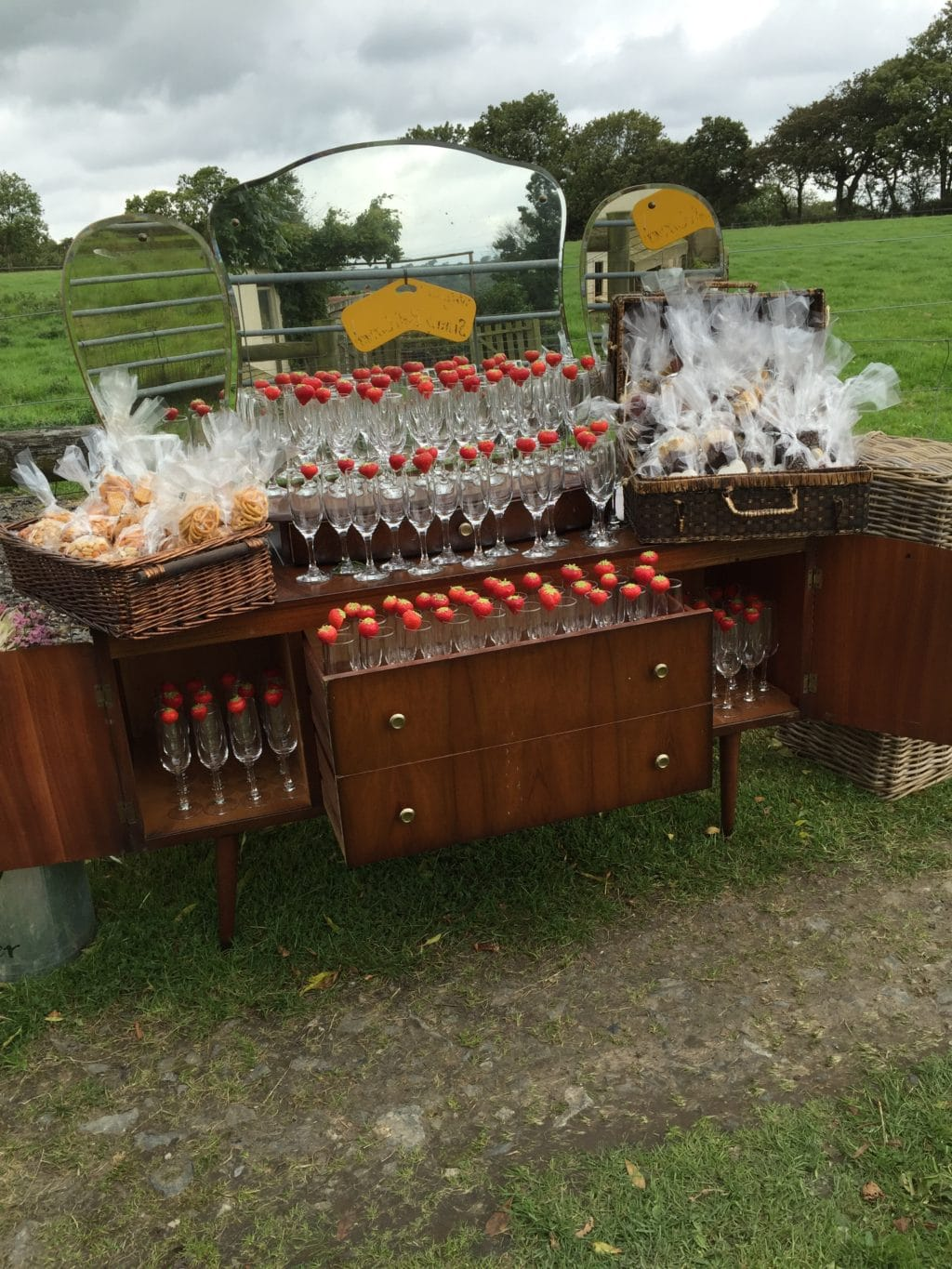 Wedding and Corporate catering in Devon and Cornwall