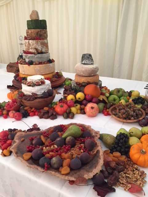 Exeter wedding caterers feasting menu