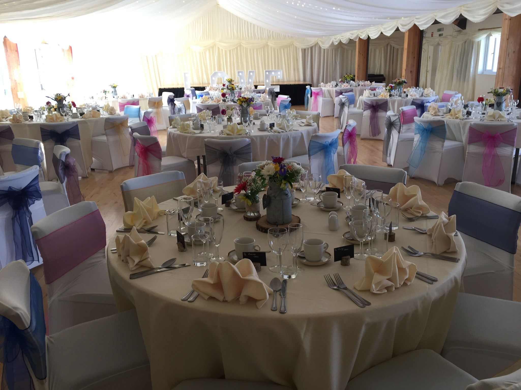 Launcells Barton Wedding Catering