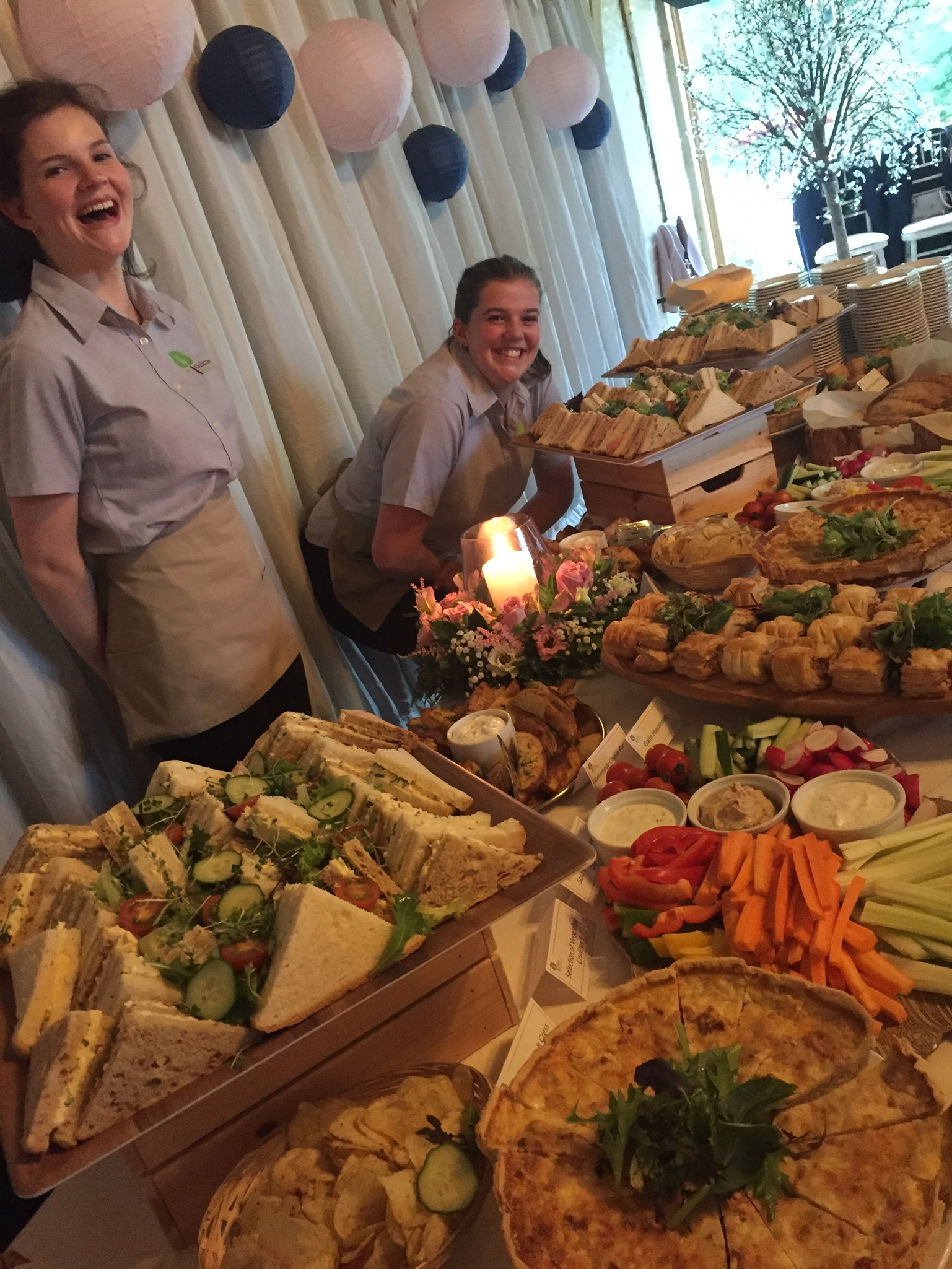 Cornwall wedding caterers, Devon outside caterers