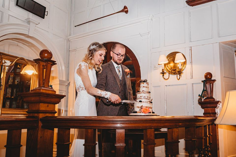 Coombe Trenchard Wedding