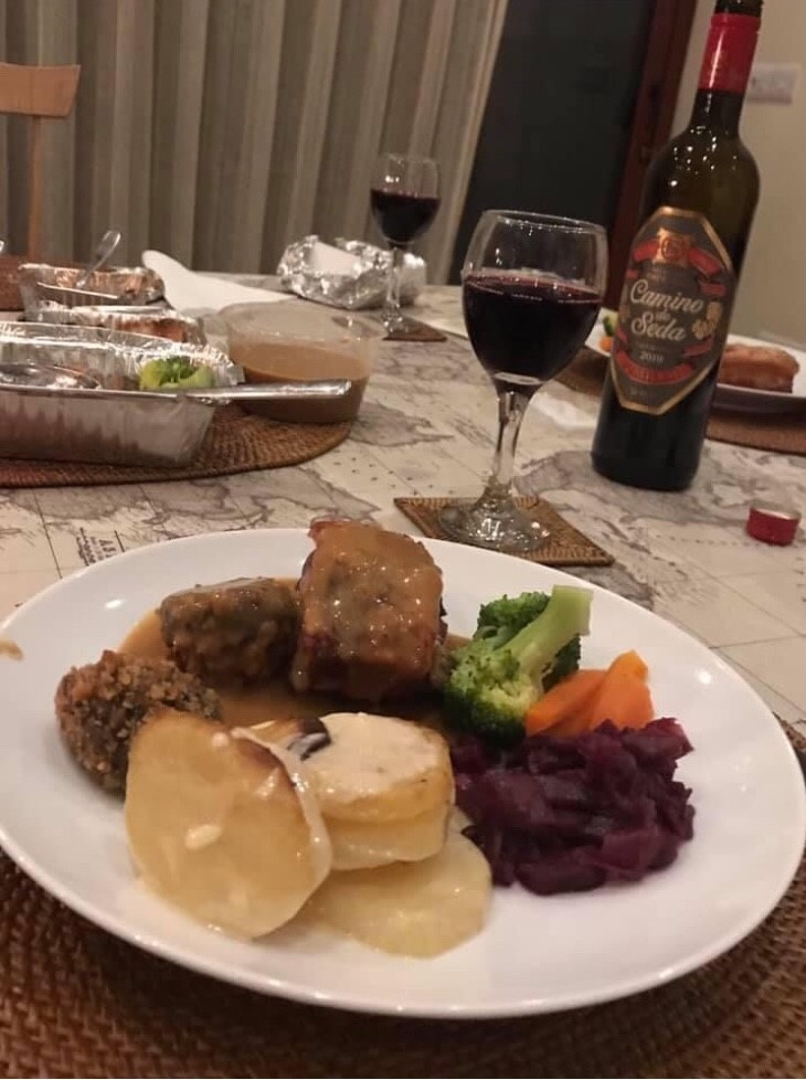 Restaurant Christmas meals at home